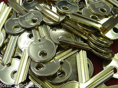 50 Off Ul1   New   Blank  Brass Cylinder  Keys