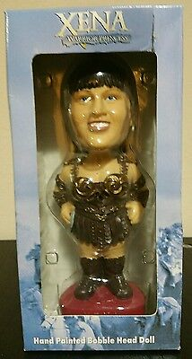 Xena Warrior Princess Hand Painted Bobble-head *EXTREMELY RARE* COLLECTABLE*