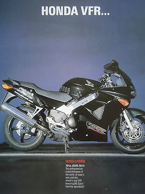 HONDA VFR800i v GSX-R1000 v GSX1000 v GOLD WING # 7 PAGE VS THE WORLD ARTICLE