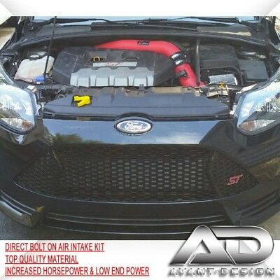 For 2013-2016 FORD Focus ST 2.0L 2.0 Turbo AF DYNAMIC COLD AIR INTAKE KIT RED