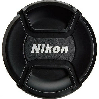 72mm Snap-On Lens Cap Replacement For Nikon with Strap - USA Stock