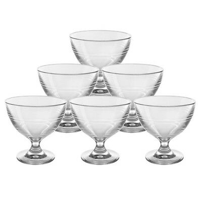 NEW Duralex Gigogne Dessert Bowl Set 6pce