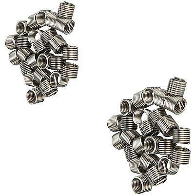 25 Piece Helicoil Type Thread Inserts M8 X 1.25mm Works With Thread Repair Kit