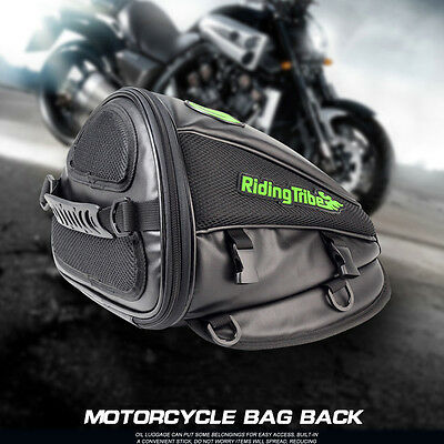 Motorcycle Back Seat Rear Storage Bag Motorbike Accessories Multifunctional Bags