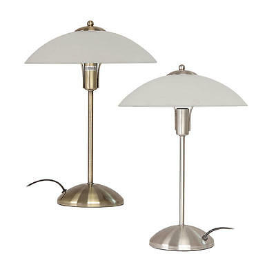 TRACEY Touch Lamp Antique Brass Or Brushed Chrome Lamp,Oriel Lighting OL99455