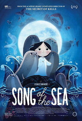 """015 Song of the Sea - 2014 Film Animated Fantasy Movie 14""""x21"""" Poster"""