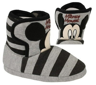 Wholesale Girls Slippers 24 Pairs Sizes 7-1  Mickey Mouse