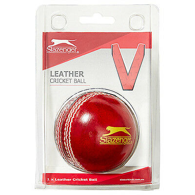 Slazenger Leather Cricket Ball