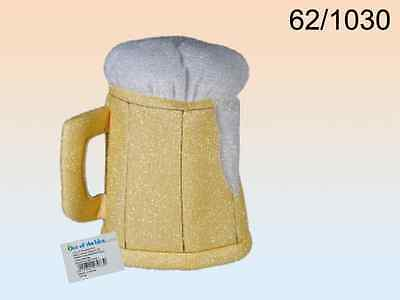 Beer Mug Hat NEW Tankard Pint Lager Fancy Dress Party Stag Funny Comedy