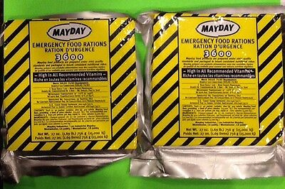 Lot Of 2-3 Day -9 Meals 3600 Calorie Survival Emergency Food Bar Bug Out Bag