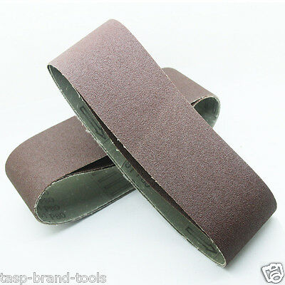 Abrasive Tools Tasp 10pcs 25x762mm Abrasive Sanding Belt 1x30 Belt Sander Sandpaper Woodworking Tools Accessories High Quality