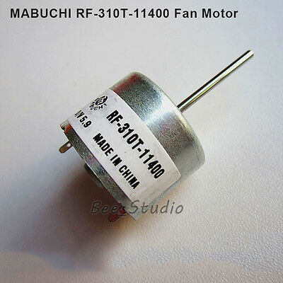 1 Piece Brand New MABUCHI RF-310T-11400 Motor, Alxe Shaft Length 22mm Dia. 2mm