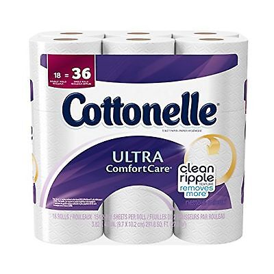 Cottonelle Ultra Comfort Care Toilet Paper 18 Pack 154 Count NO TAX FREESHIP