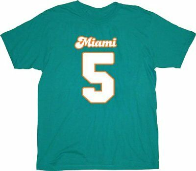 Adult Movie Ace Ventura Ray Finkle Maimi  5 Teal Costume Jersey T-shirt Tee c5f58d9d8