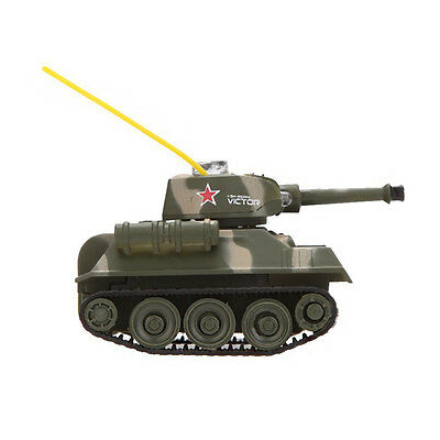 777-215 Tank-7 Mini RC Tiger Tank R/C Toy with 27MHz Transmitter BF