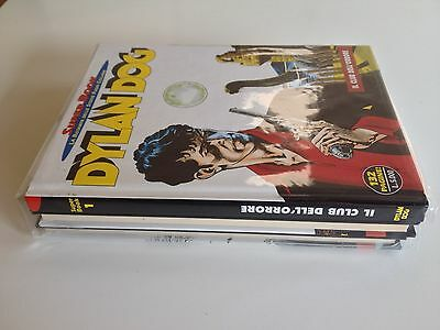 Dylan Dog Super Book 1-3 Lotto Bonelli Imbustati Ottimi