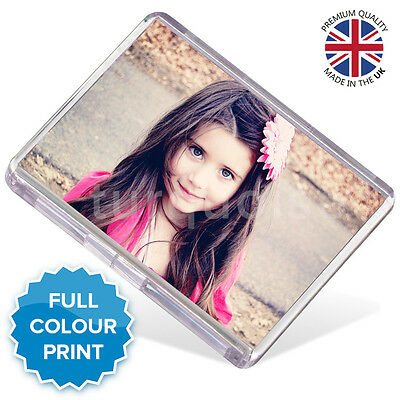 Personalised Custom Photo Gift Fridge Magnet 73 x 51 mm | Jumbo Size