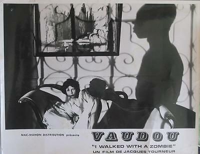 I WALKED WITH A ZOMBIE 1943 RR70s' Jacques Tourneur - 1  FRENCH LOBBY-CARD