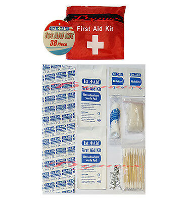 Travel First Aid Kit 38 Pcs Emergency Medical Kit For Home/office/sports/camping