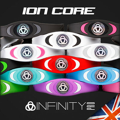 4000 Ion Bracelet By Infinity Pro Core Power Band Sleep Energy Golf Wristband UK