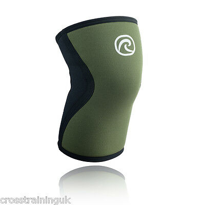 Rehband RX Line 5mm Green Knee Cap Reebok CrossFit  Bridges series