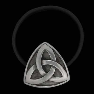 Triquetra - Celtic Hair Rubber jewelry