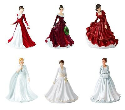 Royal Doulton Songs of Christmas Pretty Ladies Christmas figurines