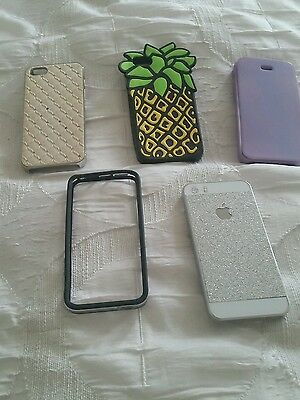 Iphone 5 / 5s Covers x 5