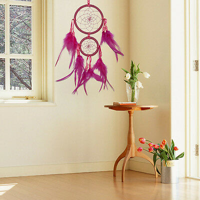 Handmade Car Dream Catcher With feather Wall Hanging Decoration Ornament Gift
