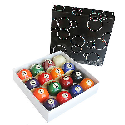 1 Box of 2 Inch Pool Billiard Balls For All Size Pool Table Free Delivery