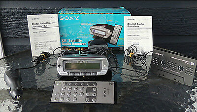 Sony XM Satellite Radio Reciever With Cassette Adapter DRN-XM01C2