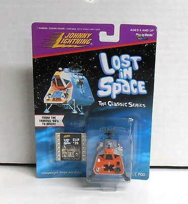 1998 Johnny Lightning Lost in Space Space Pod Diecast NIP