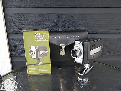 Bell and Howell Super 8 Movie Camera  Model 429