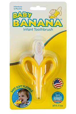 GENUINE Baby Banana Brush Teething Toothbrush - OFFICIAL Australian Distributor