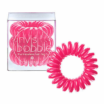 Invisibobble Traceless Hair Ring and Bracelet Band New Pinking Of You Pack of 3