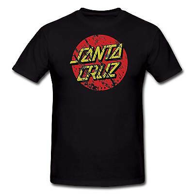 Santa Cruz Big Dot Distressed Tee Shirt