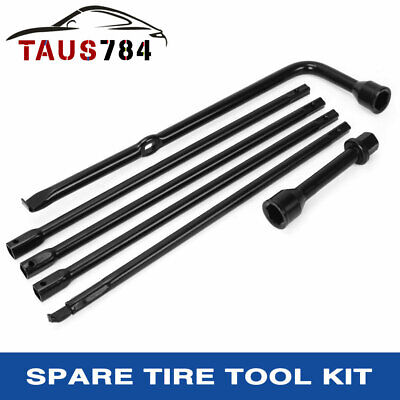 2007-2015 Compatible with Dodge Ram 2500 3500 Spare Tire Tool Kit Pack Replacement for Jack