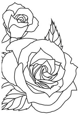 "Kaisercraft - 4""x6"""" Embossing Folders - Sketched Rose"