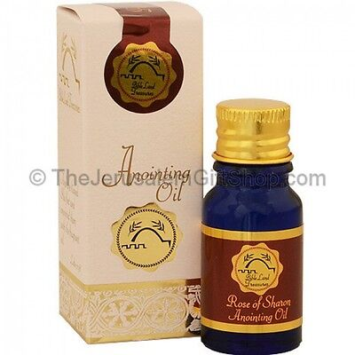 Pack of 25 units Bible Land Treasures Rose of Sharon Anointing Oil - 10ml