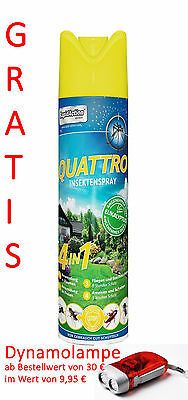RapidAction Thermacell Insektenspray QUATTRO 600ml Outdoor Schutz Insekten