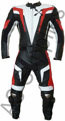 """STASIS"" neXus New Armoured 2-piece Leather Biker Motorcycle Suit - All sizes!"