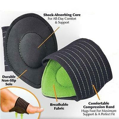 2 Foot Heel Pain Relief Plantar Fasciitis Insoles Pads Arch Support Shoes Insert