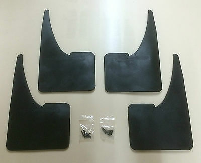 FORD MUDFLAPS x4 - set of Mudflaps + fittings MONDEO - FIESTA -EASY TO FIT