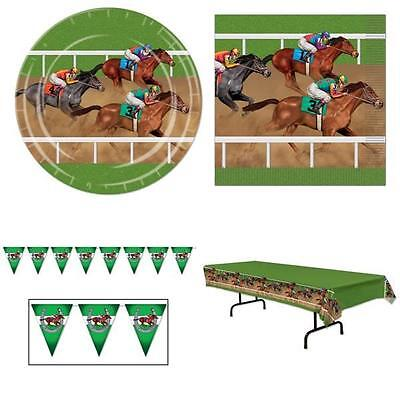 Horse Race Tableware & Bunting Racing Grand National Derby Charity Party