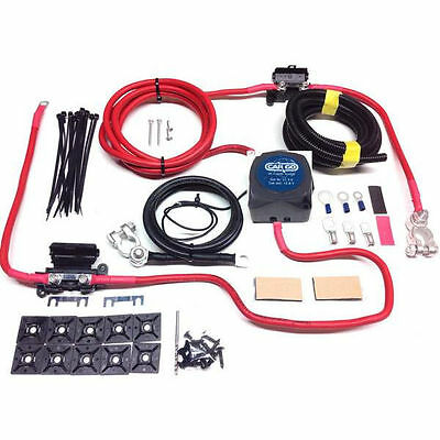 Camper Van 5Mtr Split Charge Kit Hc Cargo 12V 140A Amp Vsr 110Amp 16Mm² Leads