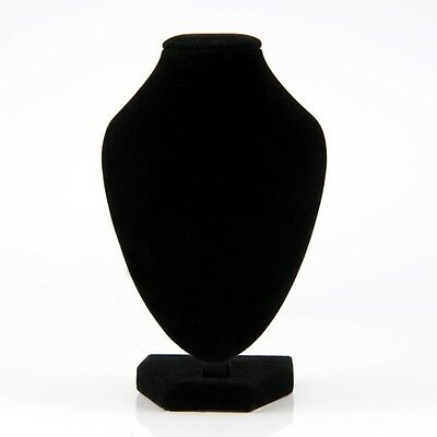 Small Black Bracklet Necklace Chain Jewelry Bust Display Holder High Quality