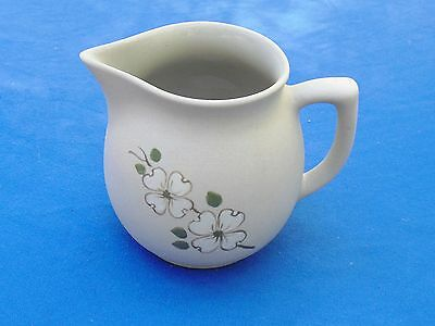"5"" MILK PITCHER~Dogwood Tree~Pigeon Forge Pottery"