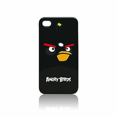 Gear4 Angry Birds Hardshell Cover Case for iPhone 4 4S Black Bomber
