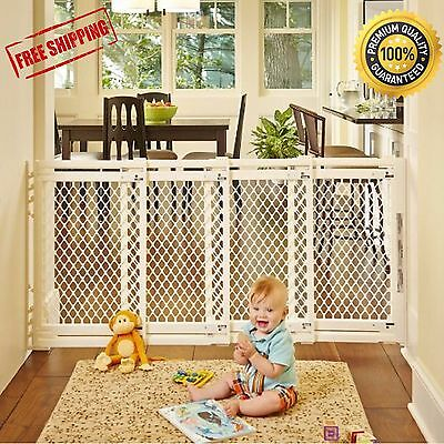 Extra Wide Large North Baby Pet Child Dog Safety Gate Barrier Doorway New