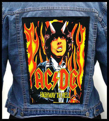 AC/DC - Highway To Hell --- Giant Backpatch Back Patch